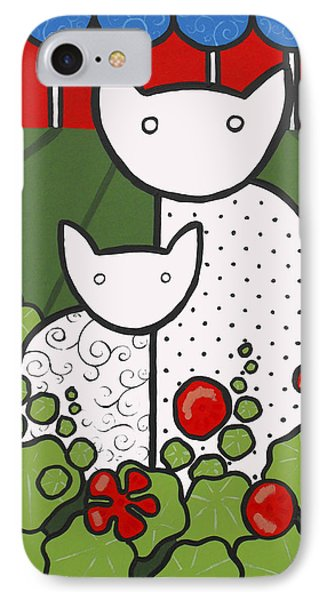 Cats 5 Phone Case by Trudie Canwood