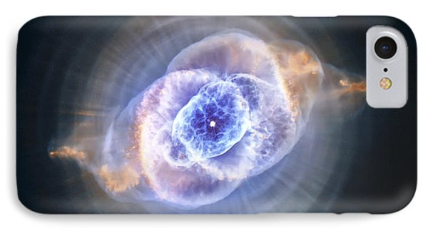 Cat's Eye Nebula IPhone Case by Adam Romanowicz