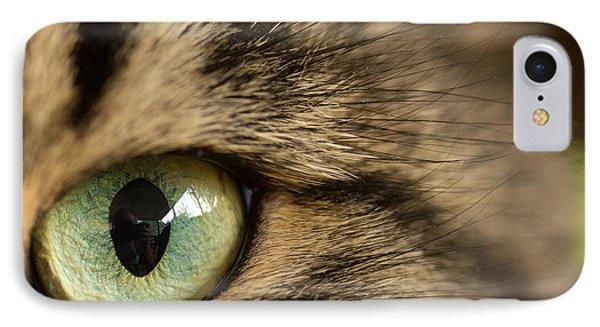 Cat's Eye IPhone Case by Shane Holsclaw
