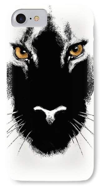 Cat's Eyes IPhone Case by Aaron Blaise