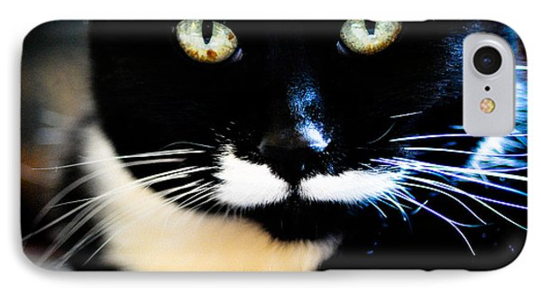 Cats Eyes IPhone Case by Ronda Broatch
