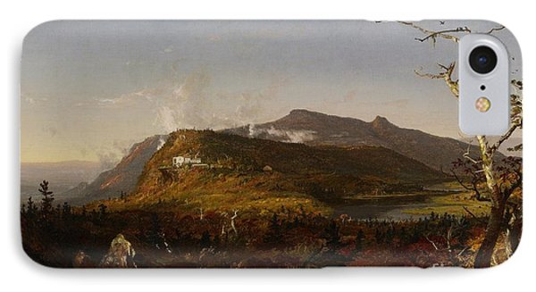 Catskill Mountain House Phone Case by Jasper Francis Cropsey
