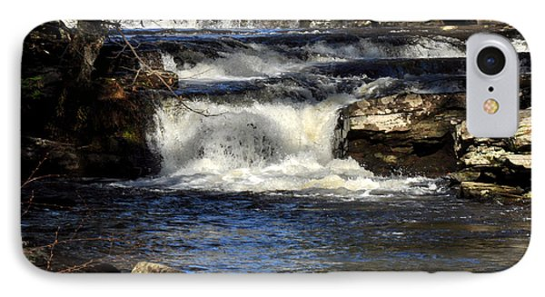 Catskills Waterfall.  IPhone Case by Diane Lent