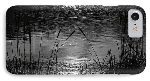 Cattails 3 IPhone Case by Susan  McMenamin