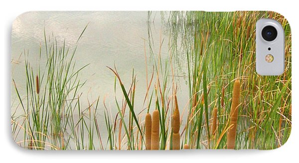 IPhone Case featuring the photograph Cattails by Marilyn Diaz