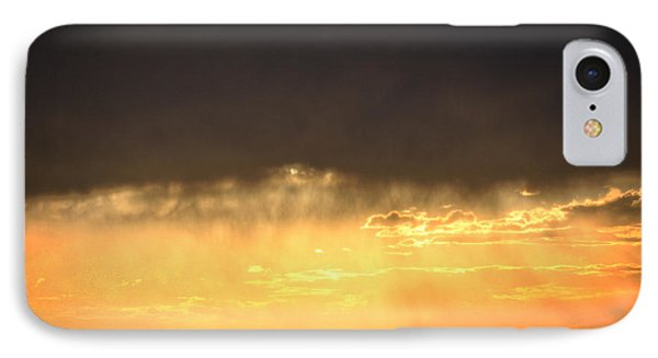 Cattle Fence At Sunset IPhone Case by Kate Purdy