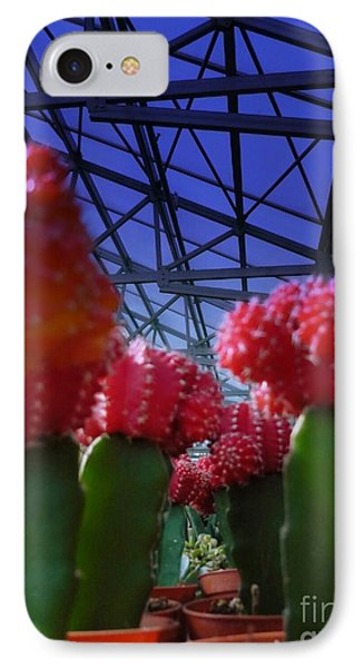 Catusflower IPhone Case by Susan Townsend