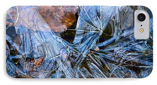 Caught In Ice IPhone Case by Michele Cornelius