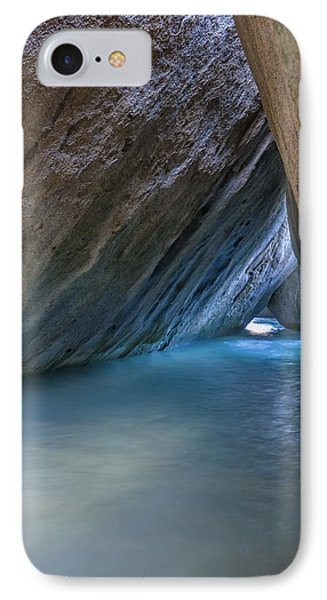 Cave At The Baths IPhone Case by Adam Romanowicz