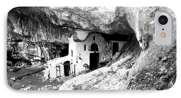 cave church on Mt Olympus Greece IPhone Case by Nina Ficur Feenan