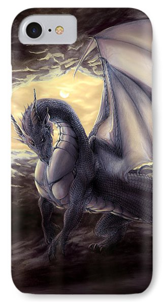 Cave Dragon Phone Case by Rob Carlos