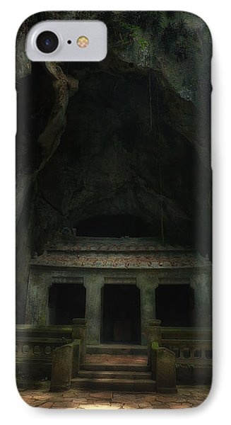 IPhone Case featuring the photograph Cave Entrance by Kim Andelkovic