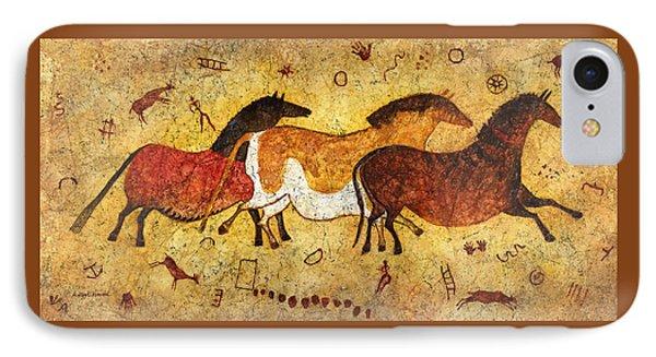Cave Horses IPhone Case by Hailey E Herrera