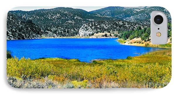 Cave Lake Phone Case by Robert Bales