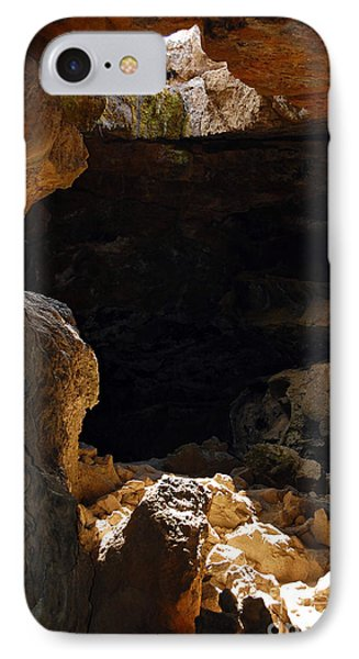 IPhone Case featuring the photograph Cave Light by Debra Thompson