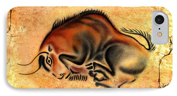 Cave Painting IPhone Case by Alessandro Della Pietra