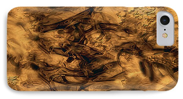 Cave Painting Phone Case by RC deWinter