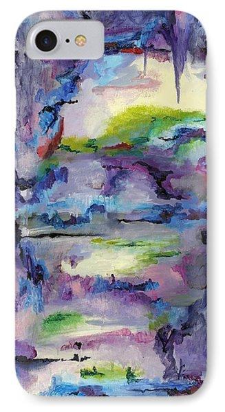Cave Painting Phone Case by Regina Valluzzi