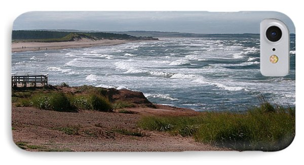 IPhone Case featuring the photograph Cavendish Prince Edward Island Seascape by Joyce Gebauer