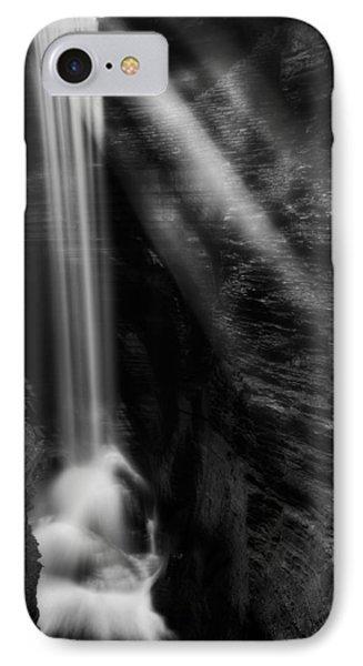 Cavern Cascade Phone Case by Bill Wakeley