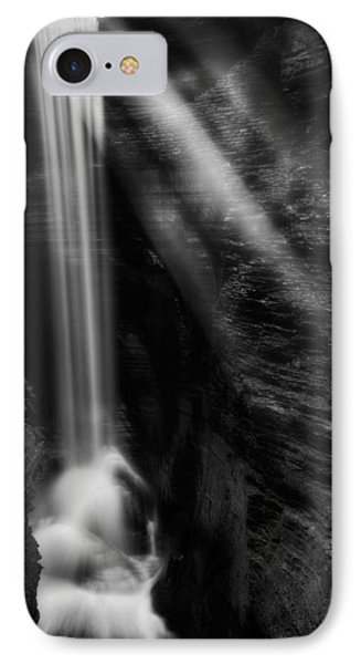 Cavern Cascade IPhone Case by Bill Wakeley