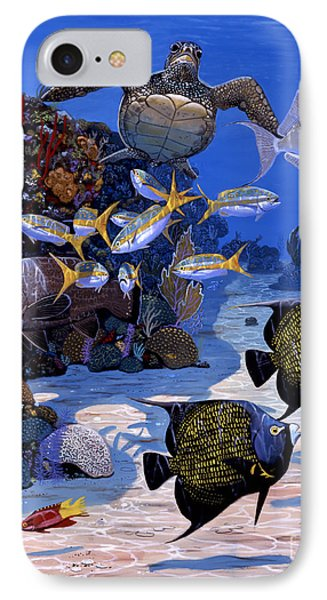 Cayman Reef Re0024 IPhone Case by Carey Chen