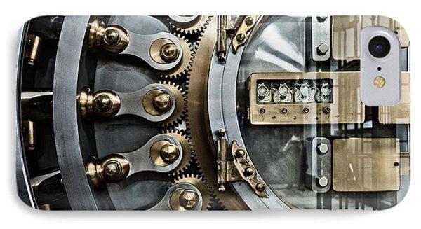 Cbot Vault Door IPhone Case by James Howe