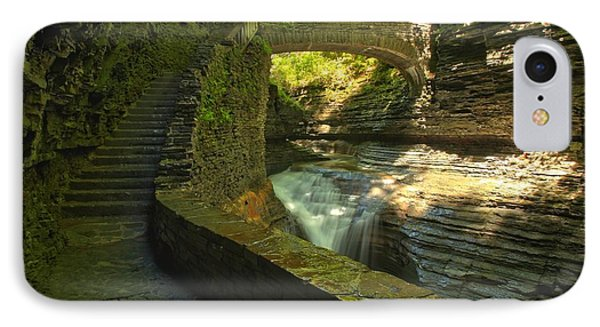 Ccc Path To The Falls IPhone Case by Adam Jewell