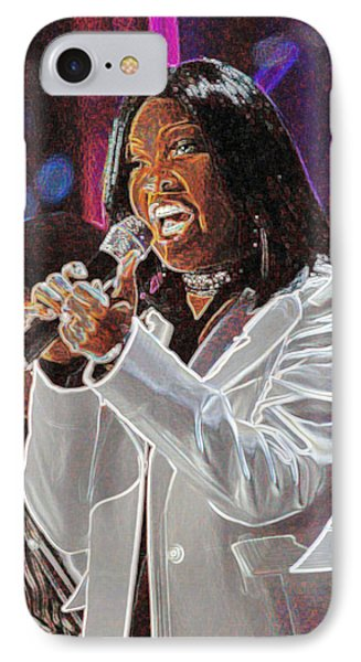 IPhone Case featuring the photograph Cece Winans by Don Olea