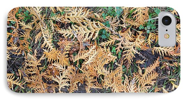 IPhone Case featuring the photograph Cedar Fall by Sheila Byers