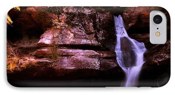 IPhone Case featuring the photograph Cedar Falls by Haren Images- Kriss Haren