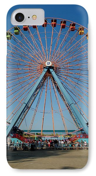 Cedar Point Sunday Phone Case by Frozen in Time Fine Art Photography