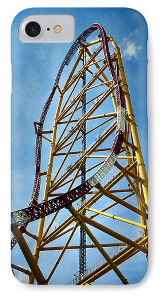 Cedar Point - Top Thrill Dragster IPhone Case by Shawna Rowe