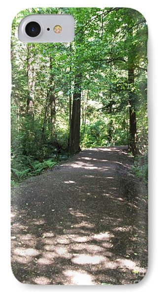 IPhone Case featuring the photograph Cedar Shadow Steps by Kim Prowse