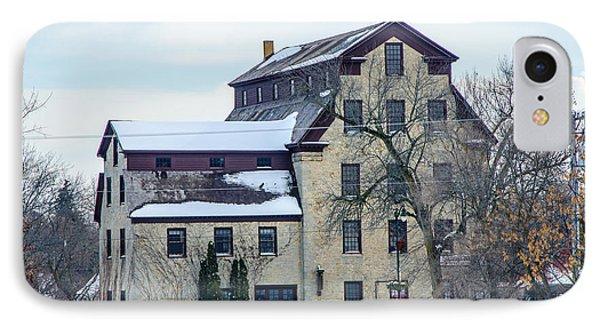 Cedarburg Mill IPhone Case by Susan  McMenamin