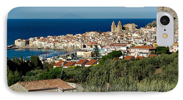 Cefalu Sicily IPhone Case by Alan Toepfer