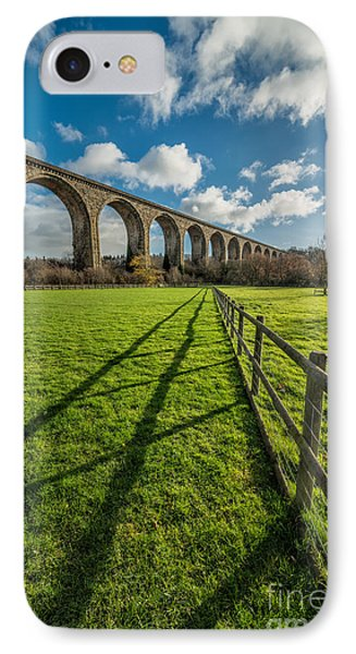 Cefn Viaduct Chirk IPhone Case