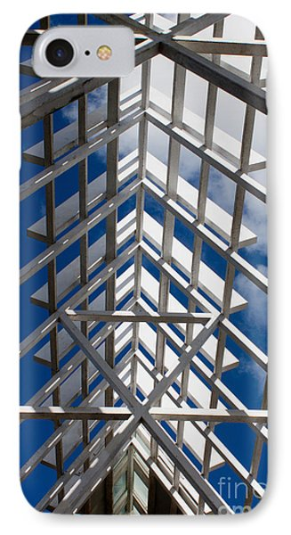Ceiling Beam Phone Case by Thomas Marchessault