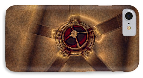 Ceiling Fan Reflected In Ipad IPhone Case by J Riley Johnson