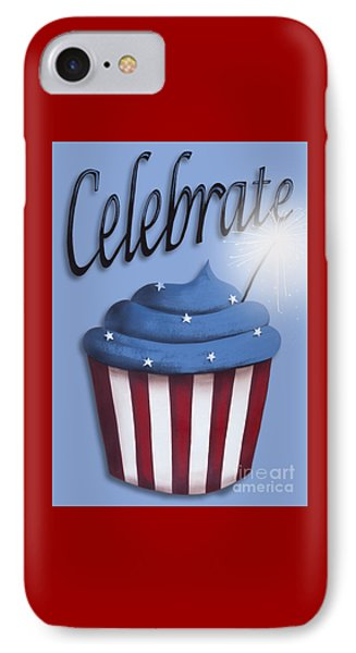 Celebrate The 4th / Blue Phone Case by Catherine Holman