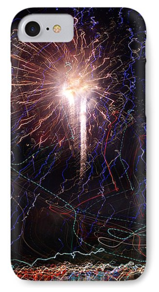 Celebration Fireworks Grand Lake Co 2007 Phone Case by Jacqueline Russell