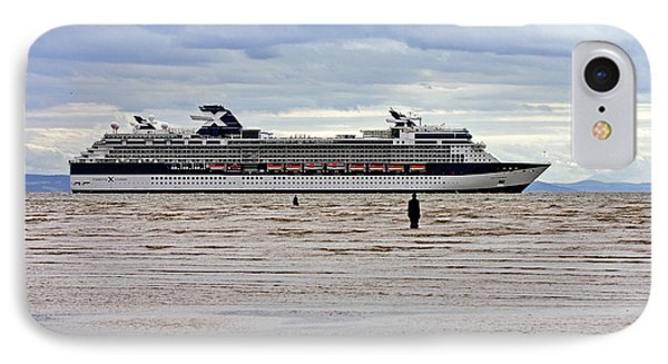 IPhone Case featuring the photograph Celebrity Cruise Ship Infinity by Paul Scoullar