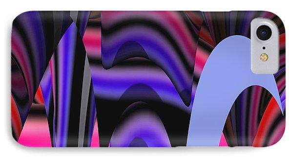 Celestial Cave Digital Art Phone Case by Georgeta  Blanaru