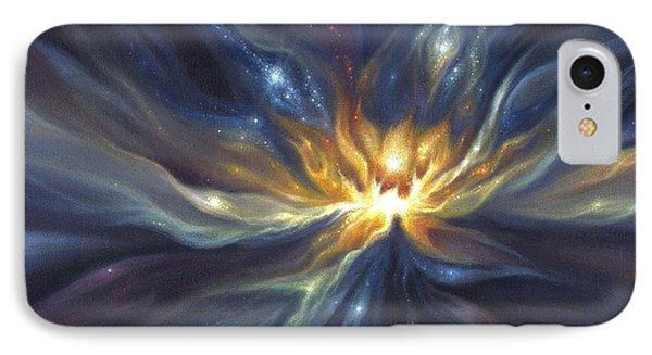 Celestial Lotus IPhone Case