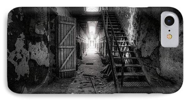 Cell Block - Historic Ruins - Penitentiary - Gary Heller IPhone Case