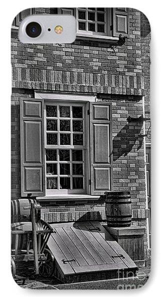 Cellar Door In Boston IPhone Case by Lee Dos Santos