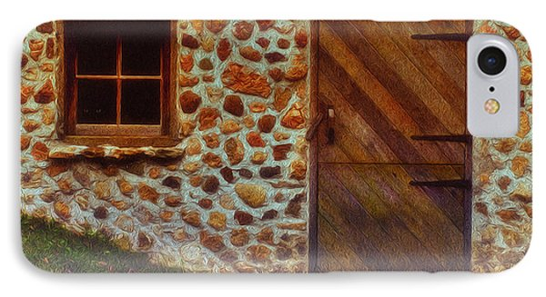 Cellar Door In The Mist Phone Case by Jack Zulli