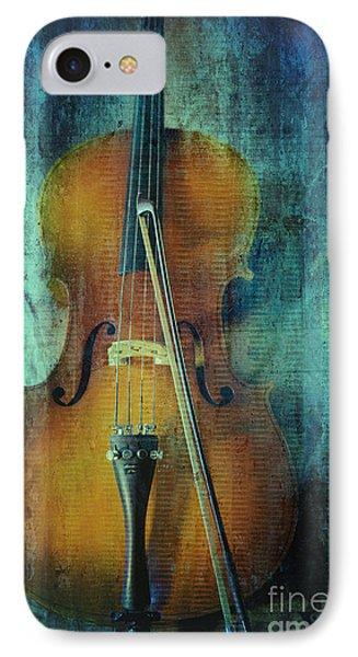 Cello  IPhone Case by Erika Weber