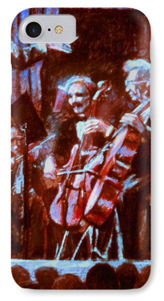 Cello_concerto_sketch Phone Case by Dan Terry