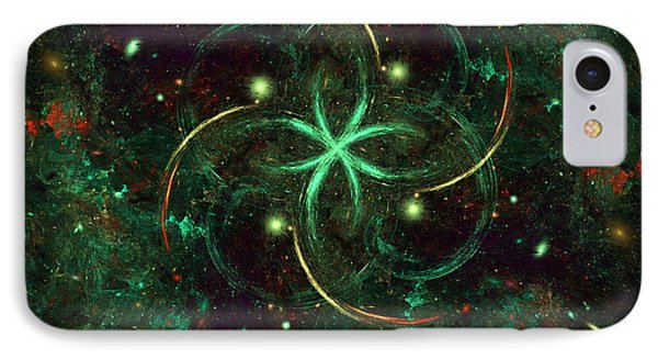 IPhone Case featuring the digital art Celtic by Arlene Sundby